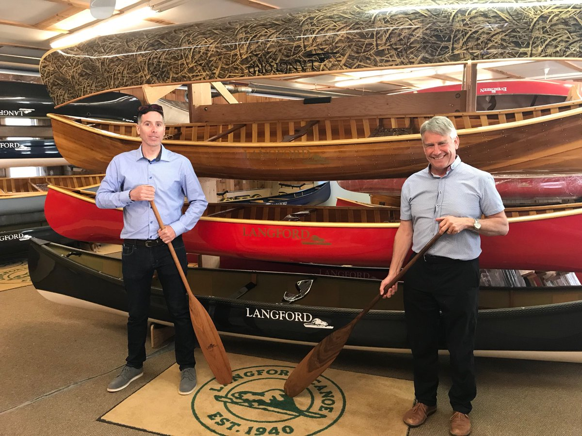Langford Canoe Dwight May 16