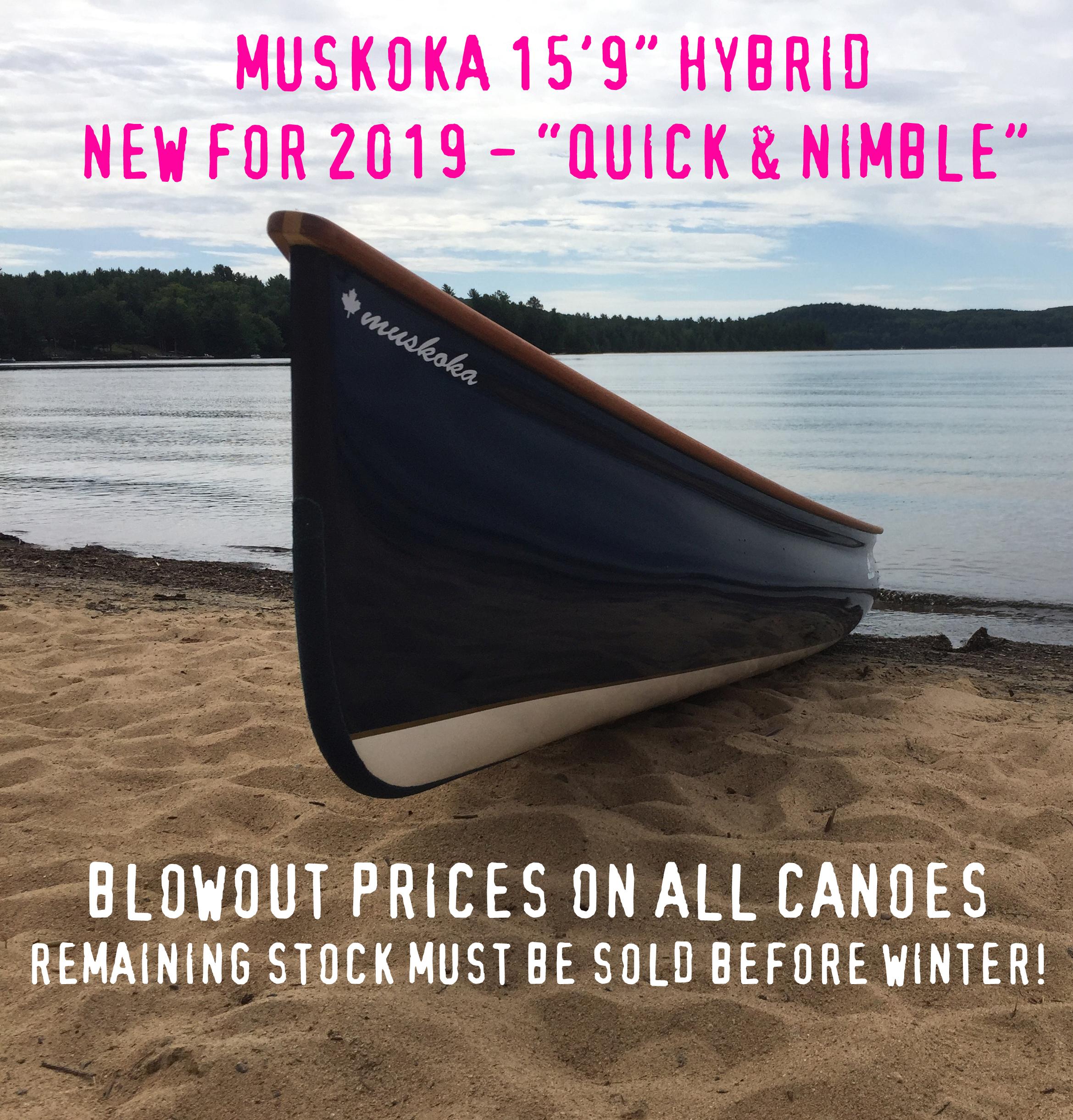 Langford Canoe - Muskoka 15'9 - Fall Sale 2019 - test template