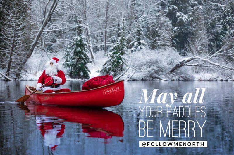 Langford Canoe - Santa