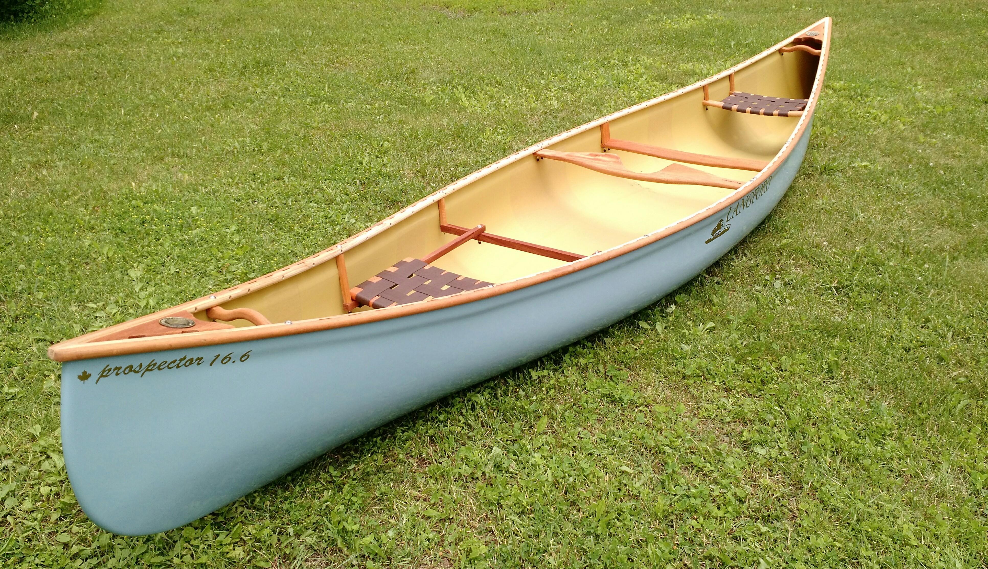 Langford Canoe Tom Thomson Demo