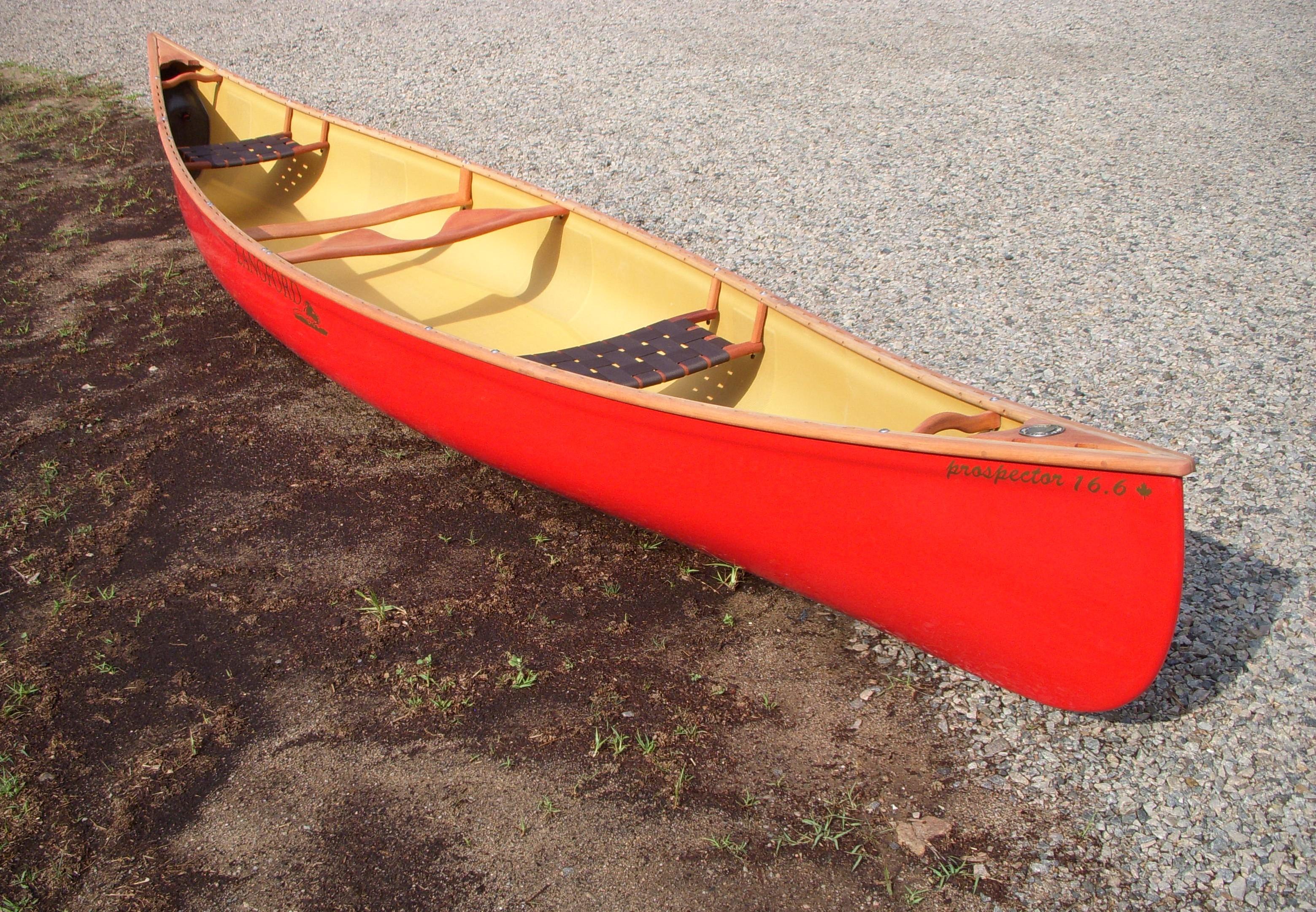 Langford Canoe Prospector 16.6