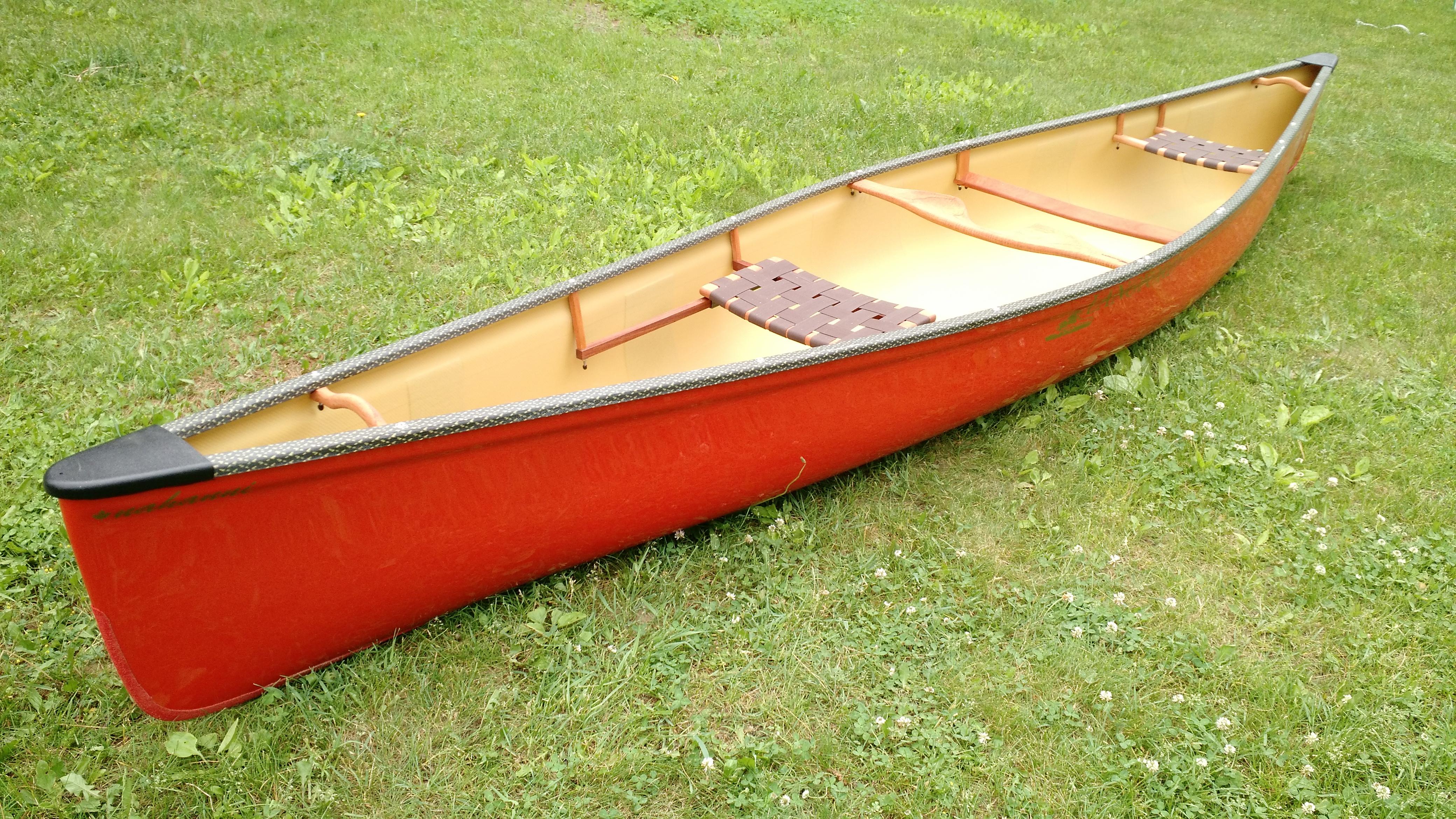 Red Nahanni Langford Canoe