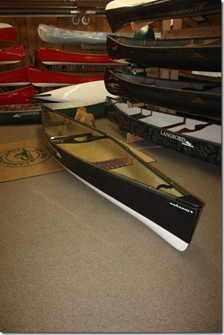 Langford Canoe - Nahanni Carbon Fiber USED